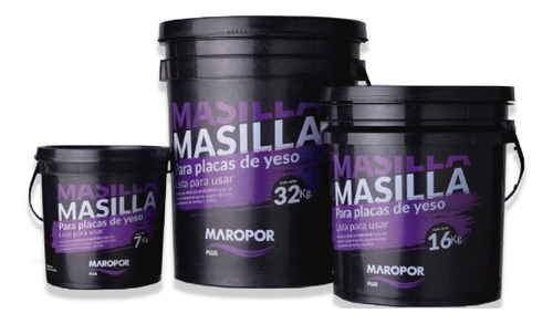 Masilla Maropor