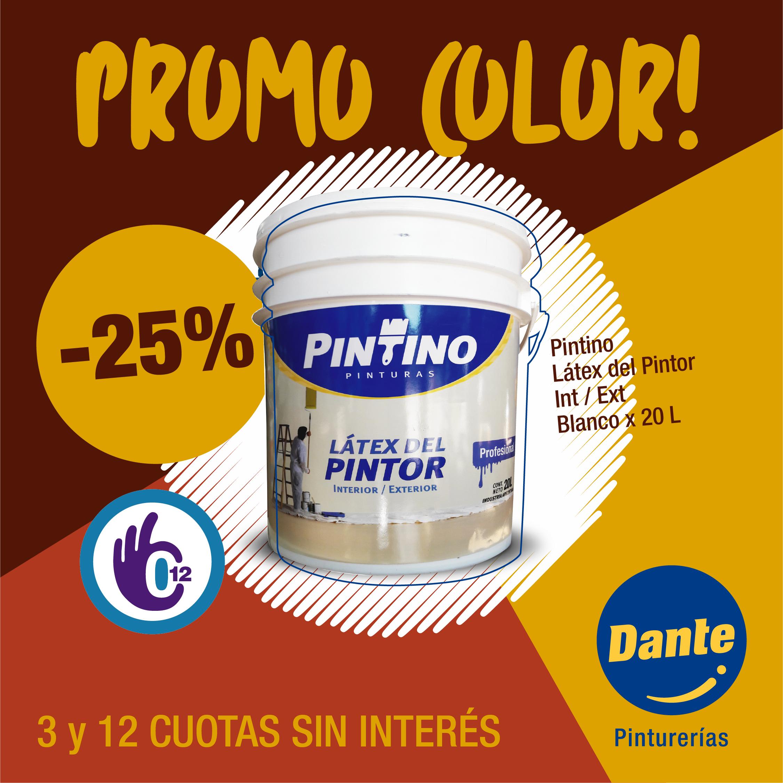 Promo Látex del Pintor